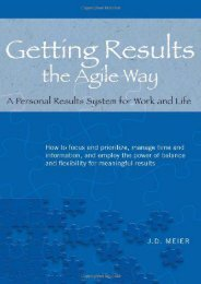 [+][PDF] TOP TREND Getting Results the Agile Way: A Personal Results System for Work and Life  [NEWS]