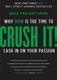 [+]The best book of the month CRUSH IT!: why NOW is the time to cash in on your passion  [NEWS]