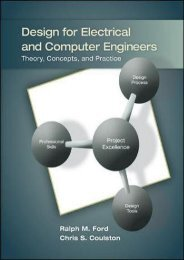 [+][PDF] TOP TREND Design for Electrical and Computer Engineers [PDF]