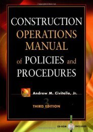 [+][PDF] TOP TREND Construction Operations Manual of Policies and Procedures (Construction Operations Manual of Policies   Procedures)  [DOWNLOAD]