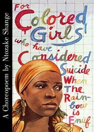[+][PDF] TOP TREND For Colored Girls Who Have Considered Suicide  [FREE]