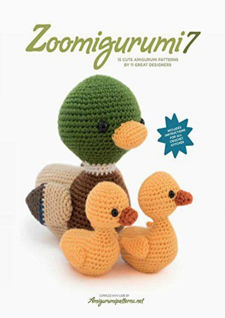 Amigurumi collection vol.6 | Book crafts, Crochet amigurumi ... | 640x452