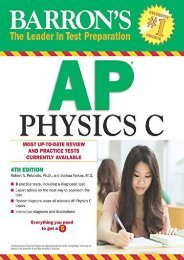 [+]The best book of the month Barron s AP Physics C  [FULL]