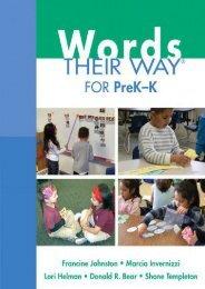 [+][PDF] TOP TREND Words Their Way for PreK-K  [READ]