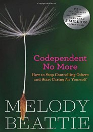 [+]The best book of the month Codependent No More: How to Stop Controlling Others and Start Caring for Yourself  [FULL]