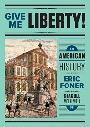 [+]The best book of the month Give Me Liberty!: An American History: 1  [READ]