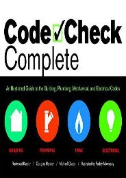 [+][PDF] TOP TREND Code Check Complete: An Illustrated Guide to Building, Plumbing, Mech  [DOWNLOAD]