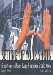[+]The best book of the month Setting Up Your Shots: Great Camera Moves Every Filmmaker Should Know [PDF]