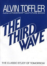 [+][PDF] TOP TREND The Third Wave: The Classic Study of Tomorrow [PDF]