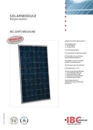 IBC 220 TS Mega - Havelland Solar