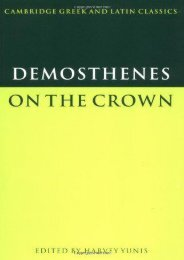 [+]The best book of the month Demosthenes: On the Crown (Cambridge Greek and Latin Classics)  [FULL]