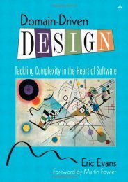 [+]The best book of the month Domain-Driven Design: Tackling Complexity in the Heart of Software  [NEWS]
