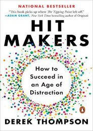[+]The best book of the month Hit Makers: How to Succeed in an Age of Distraction  [DOWNLOAD]