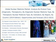 Global Nuclear Medicine Market By Diagnostic Type (SPECT, PET), By Therapeutic Type (Alpha Emitters, Beta Emitters, Brachytherapy