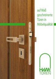Prospekt (PDF) - bei HAWE-Türen
