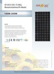 18OW-205W - Havelland Solar