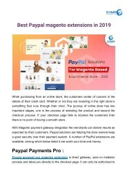 _Best Paypal magento extensions in 2019