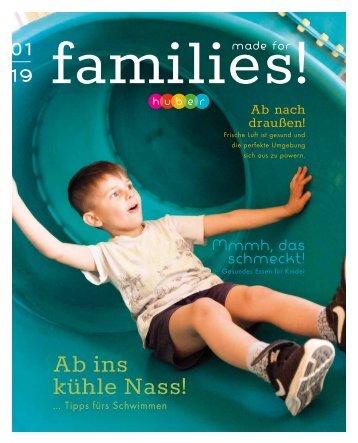 Jahresjournal 01|2019 Familienhotel Huber in Vals|Südtirol - MADE FOR FAMILIES