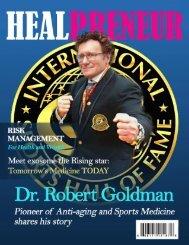 HealPreneur Dr. Robert Goldman