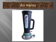 Venturi Air horn