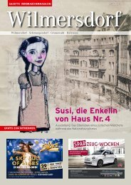 Gazette Wilmersdorf März 2019