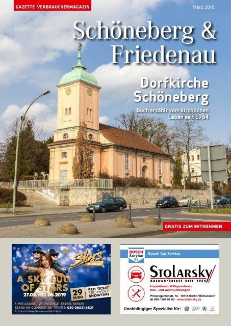 Gazette Schöneberg & Friedenau März 2019