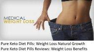 Pure Keto Diet Pills Reviews
