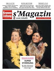 s'Magazin usm Ländle, 24. Februar 2019