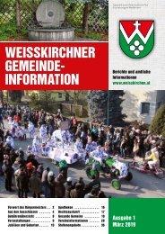 Gemeindeinfo 2019/01