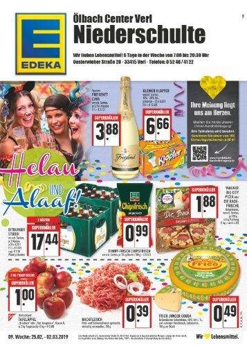 Edeka Verl Niederschulte
