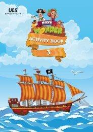 Kidzwonder Activity Book 3
