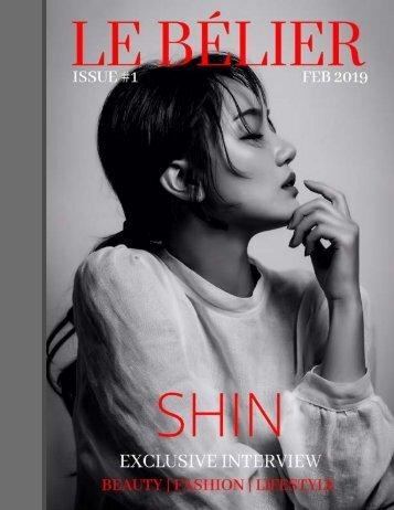 LE BÉLIER MAGAZINE  X  SHIN