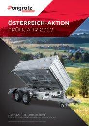 PONGRATZ Österreich-Aktion Prospekt Frühjahr 2019
