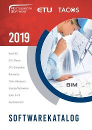 Hottgenroth Software ETU TACOS Gesamtkatalog 2019