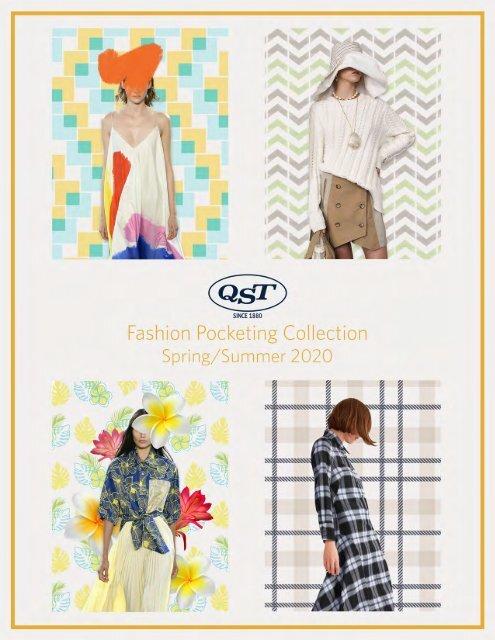 Spring Summer 2020 Fashion Pocketing Lookbook