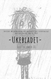 Ukebladet, uke 8