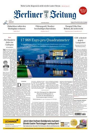 Berliner Zeitung 22.02.2019
