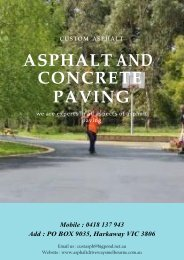 Why Asphalt Paving is Better than Concrete Paving