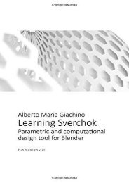 [+][PDF] TOP TREND Learning Sverchok: Parametric and computational design tool for Blender [PDF]