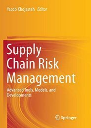 [+][PDF] TOP TREND Supply Chain Risk Management: Advanced Tools, Models, and Developments  [FULL]
