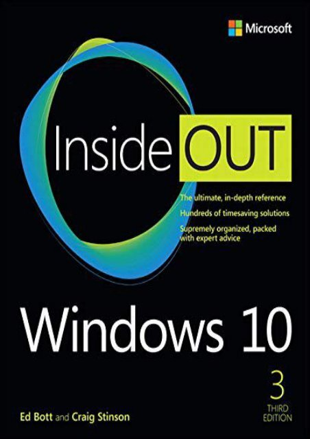 PDF] TOP TREND Windows 10 Inside Out [DOWNLOAD]