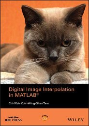 [+]The best book of the month Digital Image Interpolation in Matlab (Wiley – IEEE)  [READ]