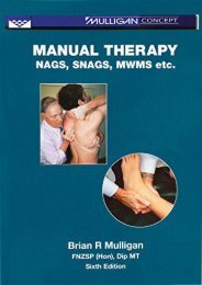 [+]The best book of the month Manual Therapy: Nags, Snags, Mwms, Etc.  [NEWS]