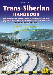 [+]The best book of the month Trans-Siberian Handbook: Trans-Siberian, Trans-Mongolian, Trans-Manchurian and Siberian BAM Routes (Includes Guides to 25 Cities)  [FULL]