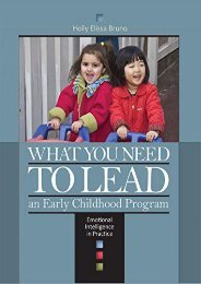 [+]The best book of the month What You Need to Lead an Early Childhood Program: Emotional Intelligence in Prac Tice  [DOWNLOAD]
