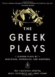 [+]The best book of the month The Greek Plays: Sixteen Plays by Aeschylus, Sophocles, and Euripides (Modern Library Classics)  [NEWS]