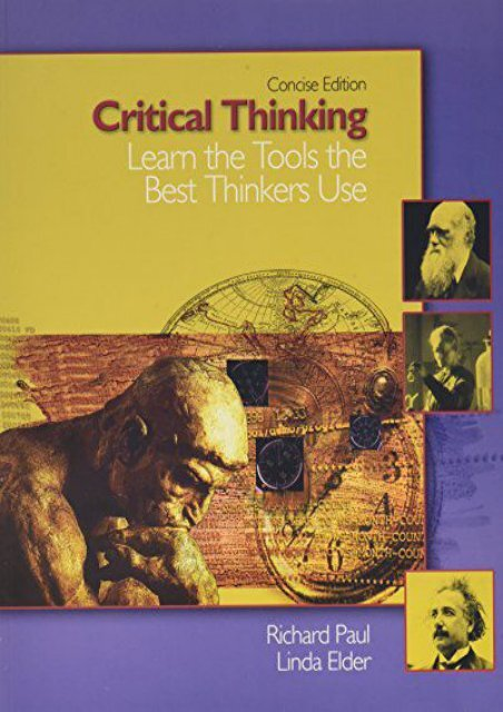 [+][PDF] TOP TREND Critical Thinking: Learn the Tools the Best Thinkers Use, Concise Edition  [DOWNLOAD]