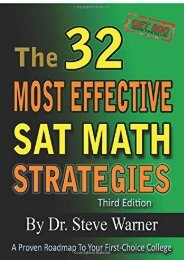 [+][PDF] TOP TREND The 32 Most Effective Sat Math Strategies  [FULL]