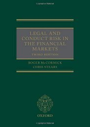 [+]The best book of the month Legal and Conduct Risk in the Financial Markets [PDF]