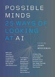 [+]The best book of the month Possible Minds: Twenty-Five Ways of Looking at AI [PDF]